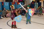 RVC Students Perform Medieval Play