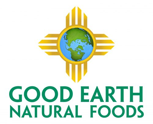 Logo of Ross Valley Charter lunch provider, Good Earth Natural Foods. Good Earth provides low-waste, healthy, nutritious lunches to RVC every day.