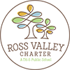 Logo for Ross Valley Charter School, a public elementary school at the White Hill Campus