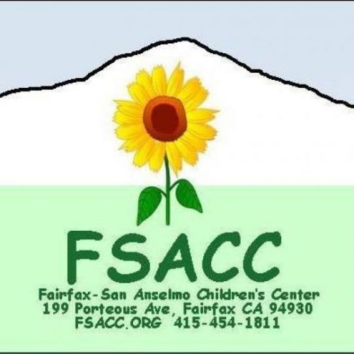 Logo for the Fairfax San Anselmo Children's Center, the only subsidized childcare center in Marin.