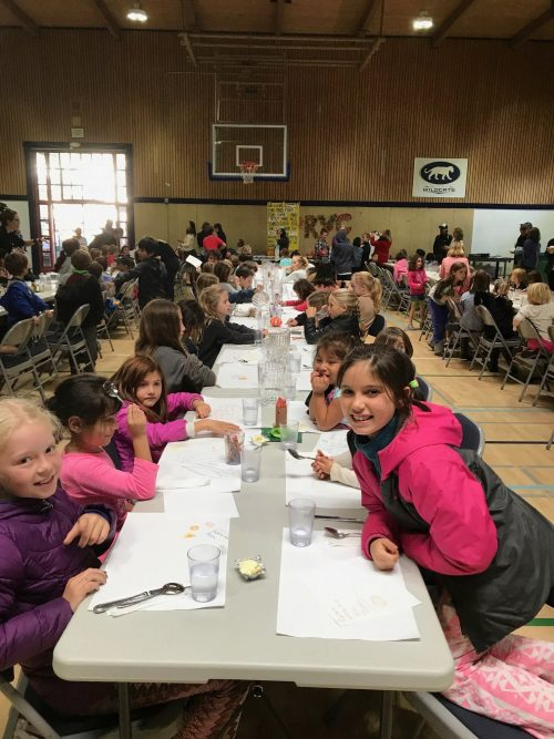 The Gratitude Feast at Ross Valley Charter brings students together to serve and celebrate