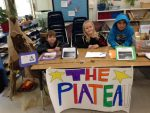 Ross Valley Charter Students become museum docents in the Regional Tribes classroom project