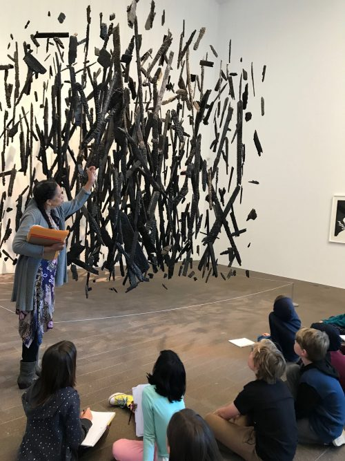 Ross Valley Charter students learn about art to inspire their poetry