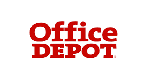 Office Depot logo for give-back program