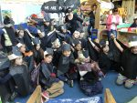Transitional Kindergarten and Kindergarteners dress as bats for Halloween