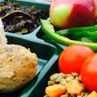 Image of a Ross Valley Charter School Lunch, served by Good Earth